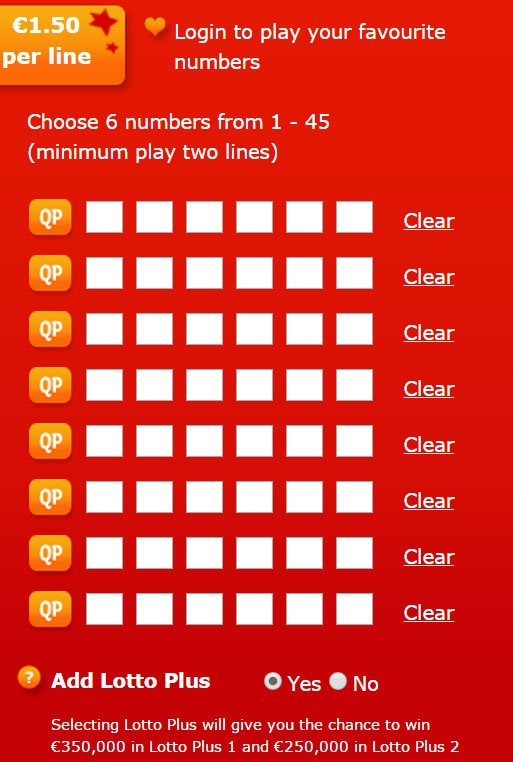 Lotto Syndicate Ireland - Lotto Lines